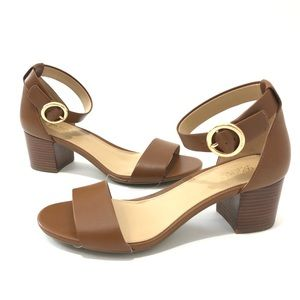 NEW! Micheal Kors tan sandals